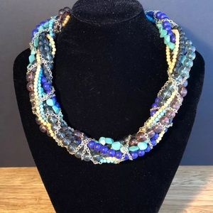 Jewelry - Multi Strand Multi Color Beaded Necklace